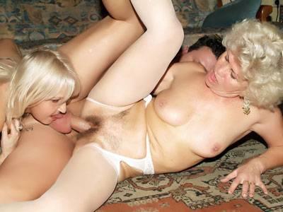 Warm; enthusiastic Grandmas Openly Underclothess Triplex