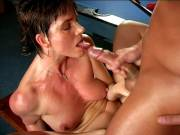 Friendly granny with enormous nipples Marketa acquires wet US blooper bulgeed strenuous