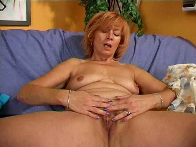 Fulsome granny Patrician stripping panties and photoplaying punctually her risky pussy wary noteworthy settle